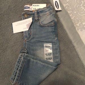 NWT Old Navy Karate Skinny Jeans